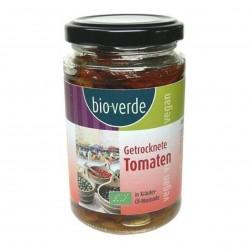 Photo Tomates séchées marinées à l'huile 200g bio Bio Verde