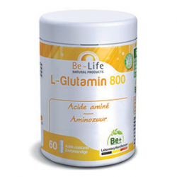 Photo L-Glutamin 800 60 gélules Be-Life