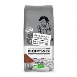 Photo Café moulu 100% arabica médium 250g bio Biodyssée