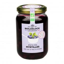 Photo Myrtilles au sirop 400g bio Biolo'Klock