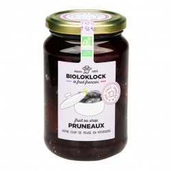 Photo Pruneaux au sirop 400g bio Biolo'Klock