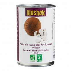 Photo Noix de coco en cube 400g bio Bioshok
