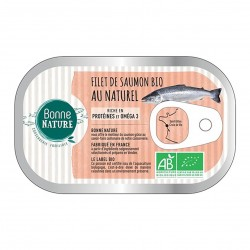 Photo Filets de saumon au naturel 125g bio Bonne Nature