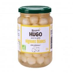 Photo Petits oignons blancs au vinaigre 37cl bio Bravo Hugo