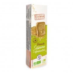 Photo Biscuits épeautre & sésame 150g bio Elibio