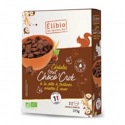 Photo Céréales fourrées Tout Choco'crok 375g bio Elibio