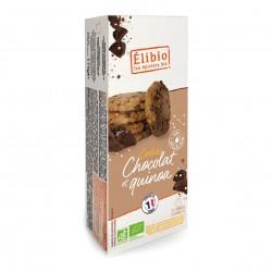 Photo Cookies quinoa & pépites de chocolat 175g bio Elibio
