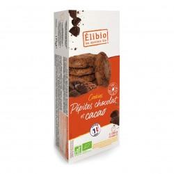 Photo Cookies tout chocolat 175g bio Elibio