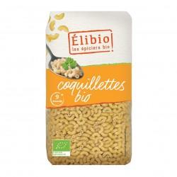 Photo Coquillettes blanches 500g bio Elibio