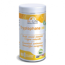 Photo Tryptophane 200 : acide aminé essentiel 180 gélules Be-Life