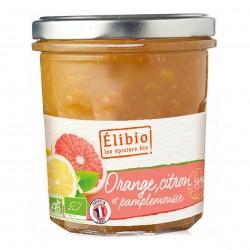 Photo Préparation à l'orange-citron-pamplemousse 320g bio Elibio
