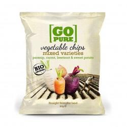 Photo Chips de légumes 90g bio Go Pure