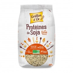 Photo Protéines de soja - gros 200g bio Grillon d'Or
