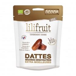 Photo Dattes séchées moelleuses dénoyautées 150g bio Lilifruit
