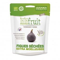 Photo Figues séchées moelleuses 150g bio Lilifruit