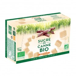 Photo Sucre de canne brun en morceaux 1kg bio Loiret & Haentjens