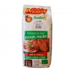 Photo Préparation pain et pizza Panilev T80 1kg bio Minoterie Prunault
