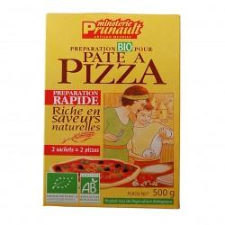 Photo Préparation pour pâte à pizza 500g bio Minoterie Prunault