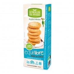 Photo Biscuits Equi'libre Coconut vegan 150g bio Moulin du Pivert