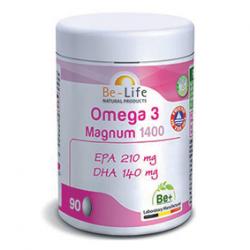 Photo Oméga 3 Magnum 1400 90 capsules Be-Life