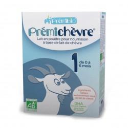 Photo Lait en poudre Prémichèvre 0-6 mois 600g bio Premibio