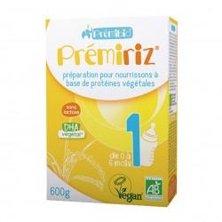Photo Préparation végétale à base de protéines de riz Prémiriz 0-6 mois 600g bio Premibio