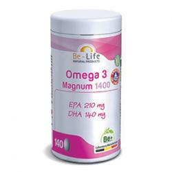 Photo Oméga 3 Magnum 1400 140 capsules Be-Life