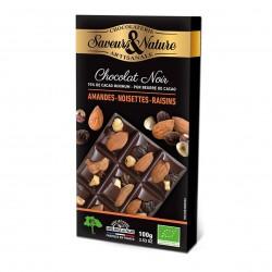 Photo Chocolat noir 70% aux amandes