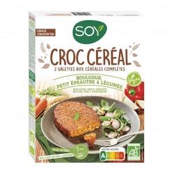 Photo Croc' céréales boulgour-petit épeautre-légumes 2x100g bio Soy