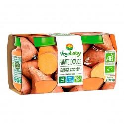 Photo Pot patate douce 2x120g bio Vegebaby