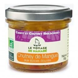 Photo Chutney de mangue aux épices douces 100g bio Voyage de Mamabe