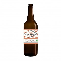 Photo Bière ambrée Amber Ale Adèle 75cl bio Biodyssée