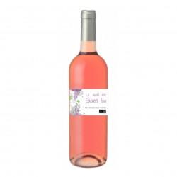 Photo La Cuvée des Epiciers - vin rosé Espagne 75cl bio Elibio