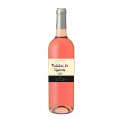 Photo Tradition de Vigneron - vin rosé AOP Bordeaux 75cl bio Elibio