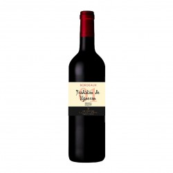Photo Tradition de Vigneron - vin rouge AOP Bordeaux 75cl bio Elibio