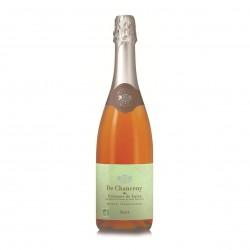 Photo AOP Crémant de Loire rosé brut 75cl bio De Chanceny