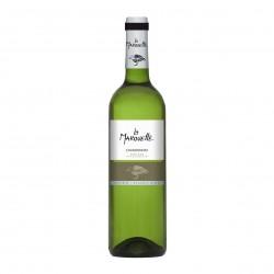 Photo Vin blanc Chardonnay - La Marouette - IGP Pays d'Oc 75cl bio La Marouette