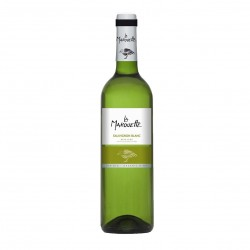 Photo Vin blanc Sauvignon  - La Marouette - IGP Pays d'Oc 75cl bio La Marouette