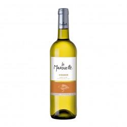 Photo Vin blanc Viognier - La Marouette - IGP Pays d'Oc 75cl bio La Marouette