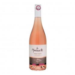 Photo Vin rosé 100% Pinot noir - La Marouette - IGP Pays d'Oc 75cl bio La Marouette
