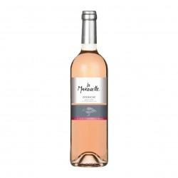 Photo Vin rosé Grenache - La Marouette - IGP Pays d'Oc 75cl bio La Marouette