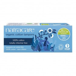 Photo Tampons Regular sans applicateur x20 bio Natracare