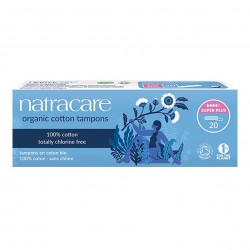 Photo Tampons Super Plus sans applicateur x20 bio Natracare