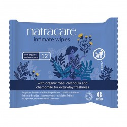 Photo Lingettes intimes x12 bio Natracare