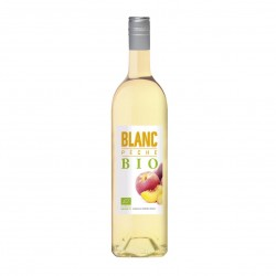 Photo Vin blanc aromatisé à la pêche 75cl bio Terroirs Vivants