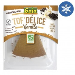 Photo Tof'Délice tarte vanille 150g bio Gaia