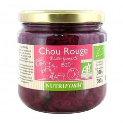 Photo Chou Rouge lactofermenté 380g bio Nutriform