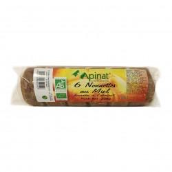 Photo Nonnettes fourrées à l'abricot 200g bio Apinat