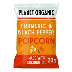Photo Popcorn Curcuma Poivre 20g Bio Planet Organic