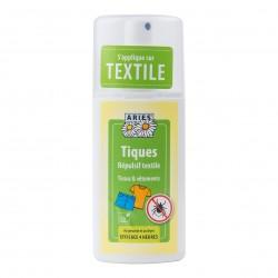 Photo Spray répulsif tiques textile 100ml Aries